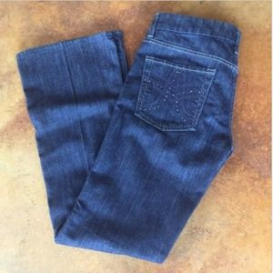 7 For All Mankind A Pocket Dark Wash Blue Jeans